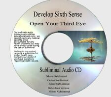 Develop Your Sixth Sense, Open Your Third Eye Subliminal 5 tracks Cd