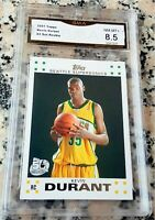 KEVIN DURANT 2007 Topps #1 Draft Pick Rookie Card RC MINT+ 8.5 MVP Warriors Nets