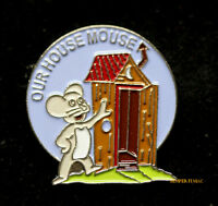 OUR HOUSE MOUSE NOSE ART HAT LAPEL PIN UP NOSE ART US ARMY MARINE NAVY AIR FORCE