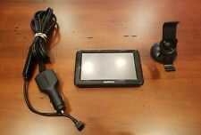 """Garmin Nuvi 2555Lm 5"""" Gps Nav System w/stand and Charger Bundle *Battery Issue*"""