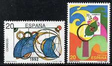 Sello DE ESPAÑA estampillada sin montar o nunca montada 1989 SG3000-01 para niños concurso Diseño