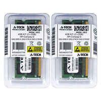 4GB KIT 2 x 2GB HP Compaq G62-208CA G62-219CA G62-219WM G62-220CA Ram Memory