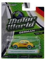 GreenLight Motor World Volkswagen Classic Beetle Green Machine Chase