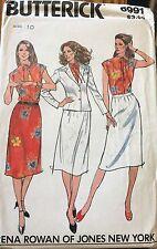 Butterick pattern 6991 Misses Jacket, blouse, skirt Rena Rowans of Jones size 10