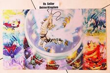 Custom Anime CARDFIGHT VANGUARD Playmat Majespecter Theme Raccoon  Mat #621