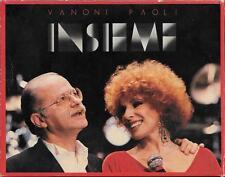 """ORNELLA VANONI  GINO PAOLI  - RARO BOX 2 CASSETTE MC """" INSIEME """""""