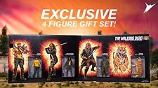 SDCC 2017 EXCLUSIVE SKYBOUND THE SHIVA FORCE WALKING DEAD BLOODY FOUR PACK