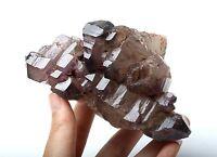 471.3g Natural Skeletal Amethyst QUARTZ Crystal Cluster point Mineral Specimen