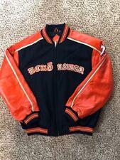 609e5b50afc Ecko Unlimited Unltd Men XL Varsity Letterman Wool Leather Bomber Jacket  Coat
