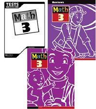 BJU Press - Math 3 Student Worktext, Reviews, & Tests