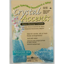 Crystal Accents Turquoise Sea Water Storing Gel - Makes approximately 8.5 Pints