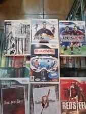 lote 20 juegos de Wii - Skylanders. Shauna white. Red Steel. Resident Evil ETC