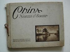 DONALD MENNIE - 1920 - CHINA NORTH AND SOUTH - PHOTO RECORD OF OLD CHINA