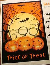 Boo Trick or Treat Panel