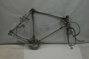 1983 Motobecane Touring Road Bike Frame Set 58cm Large Suntour 5GT Steel Charity
