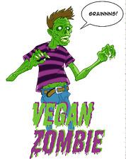 Vegan Zombie wall,car,van,laptop etc decal sticker