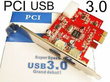 2 Port USB 3.0 Express Interface PCI-E bus Card Support Super-Speed 5Gbps