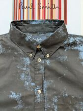 PAUL SMITH SHIRT Size S - GORGEOUS Abstract Pattern - Ultra Cool !!!