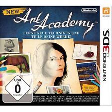 NEW Accademia d'ARTE Nintendo 3DS NUOVO + conf. orig.