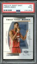 2003-04 LeBron James Upper Deck Sweet Shot Rookie RC PSA 9.0 *MINT*
