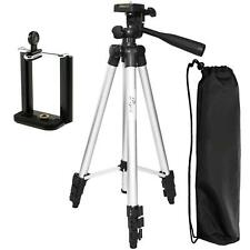 "Tripod, PEMOTech 50"" Lightweight Aluminum Camera,Video,iPhone, Samsung Holder Mo"
