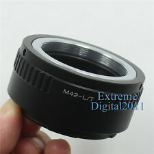 M42-L/T Adapter For M42 Mount Lens to Leica T Type 701 Mirrorless Camera