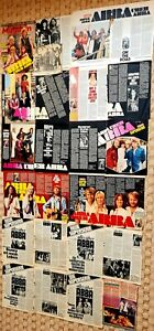 "ABBA- A LOT OF DIFFERENT CLIPPINGS ""ABBA ÜBER ABBA"""