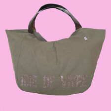 Tote Bag Elegant With Glitter French Phrase, Joie De Vivre