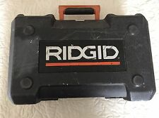 CASE ONLY - RIDGID R2600 5'' ORBIT SANDER (FITS MY FESTOOL SANDER SYSTAINER)
