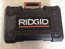 CASE ONLY - RIDGID R2600 5'' ORBIT SANDER (FITS MY FESTOOL SANDER SYSTAINER)