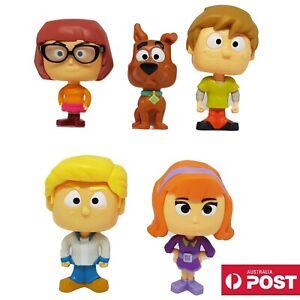 5 x McDonald's Happy Meal Toys Scoob Scooby-Doo Shaggy Velma Fred Daphne 2020