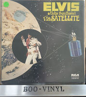 Elvis ' Aloha from Hawaii Via Satellite' Vinyl 2 Record Set  DPS 2040 EX / EX