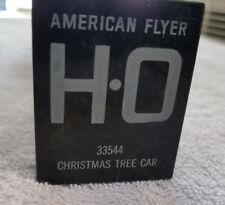 American Flyer HO 33544 Canadian Pacific Christmas Tree Car w/Kleer Pak