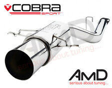 Cobra Sport Impreza Turbo WRX STi Exhaust Rear Silencer Back Box RACE TYPE 01-07
