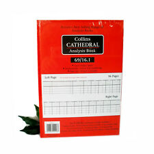 COLLINS Cathedral Analysis Book 69 series Collins 69/16.1 Accounts Book