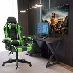 Racing Gaming Chairs Office Swivel  Executive Recliner PC Computer Desk Chair UK