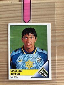 1995 Panini Calciatori #228 Gianluigi Buffon Rookie RC Parma Sticker EXC