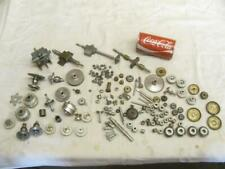 Large Lot Antique Vintage SteamPunk Industrial Machine iron Age Craft Parts Gear