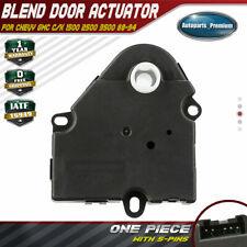 HVAC Heater A/C Blend Door Actuator for Chevrolet Blazer GMC 1988-1994 16141802