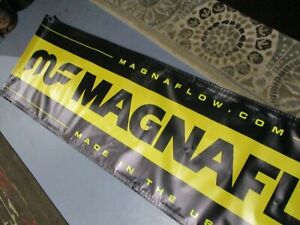 HOT ROD NMCA Muscle Car NATIONALS MF Magnaflow EXHAUST Speed Shop BANNER Sign
