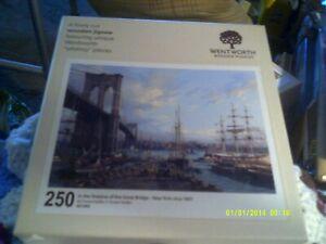 WENTWORTH 250 'IN SHADOW OF THE GREAT BRIDGE-NEW YORK,c1897' DUSAN KADLEC