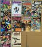 AVENGERS related LOT 10 Marvel comic 1977-94 Spider-man Hulk Thor Doctor Strange