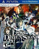 Lost Dimension ( Sony PlayStation Vita / PS Vita )