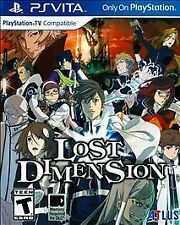 NEW Lost Dimension (Sony PlayStation Vita, 2015)