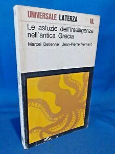 Detienne - Vernant, Le astuzie dell'intelligenza nell'antica Grecia. Laterza '84