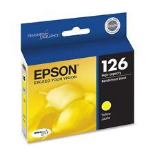 GENUINE Epson 126 Yellow Ink Cartridge for Stylus NX330 NX430 WorkForce 60 435