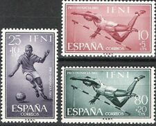 SPANISH COLONIES IFNI 1961 CHILD WELFARE FOOTBALL HIGH JUMP 176 - 178 FINE MNH