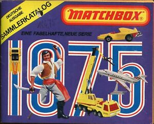Matchbox. Katalog / Heft. 1975. Deutsche Ausgabe