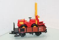 LGB Spur G 94005 Güterwagen OW  mit Gabelstabler der DEV (JS8495).o
