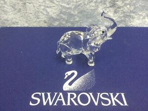 Swarovski Rare Encounters Baby Elephant 7640000001 191371. Retired 2012. MIB.